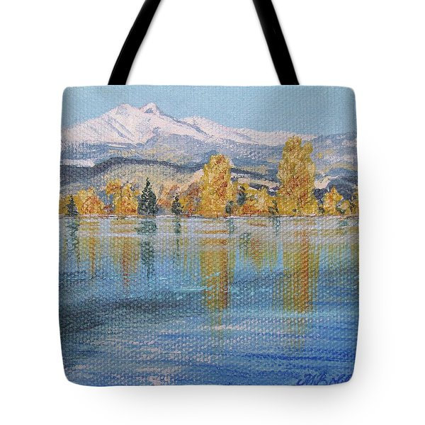 Crisp Morning Tote Bag by Margaret Bobb