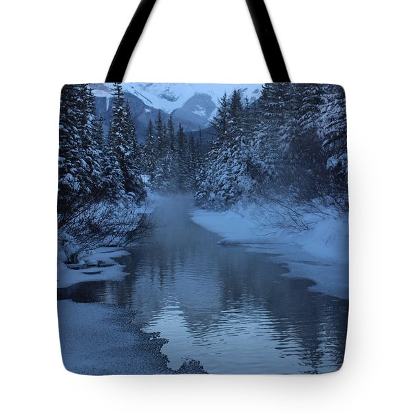 Tote Bag featuring the photograph Crisp by Ramona Johnston