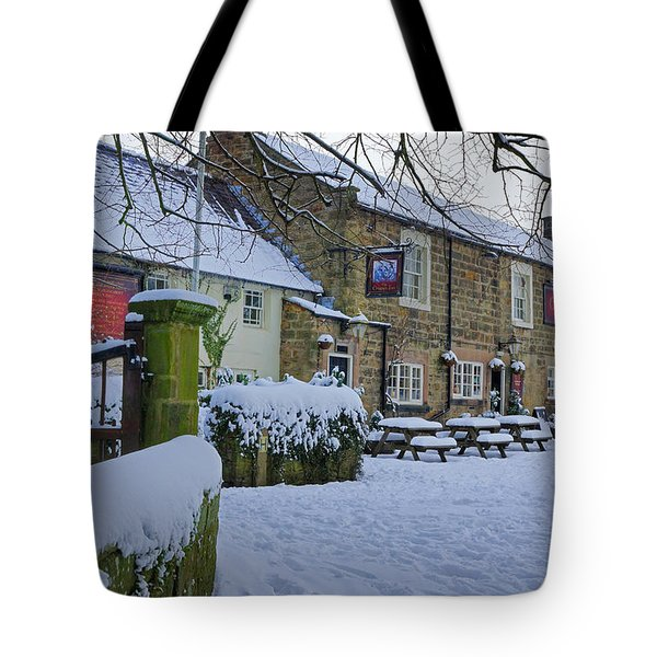 Crispin Inn At Ashover Tote Bag by David Birchall