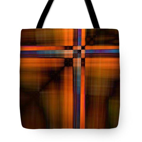 Crisscross 1 Tote Bag
