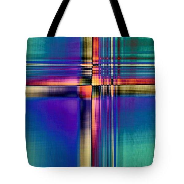 Crisscross 2 Tote Bag