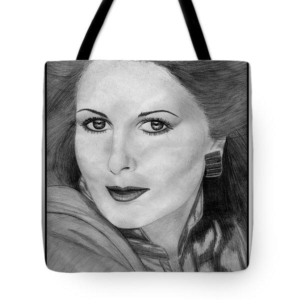 Cristina Ferrare In 1981 Tote Bag by J McCombie