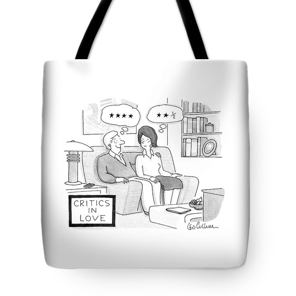 Critics In Love Tote Bag