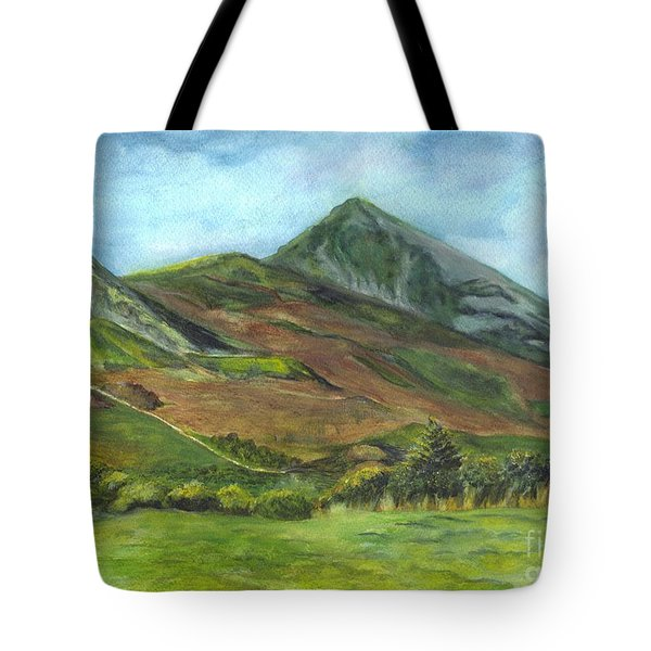 Croagh Saint Patricks Mountain In Ireland  Tote Bag