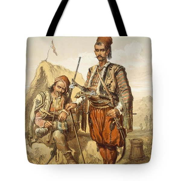 Croatian Guards, 1865 Tote Bag