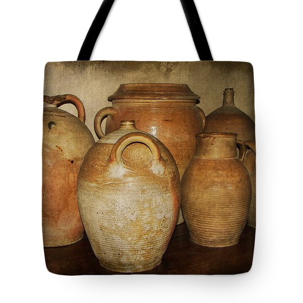 Crocks And Jugs Tote Bag