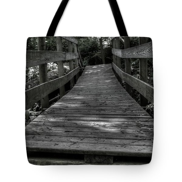 Crooked Bridge Tote Bag