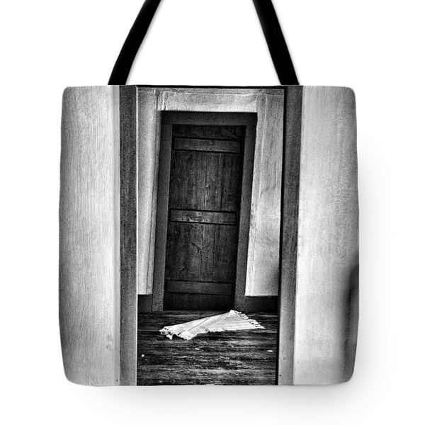 Crooked Door Tote Bag