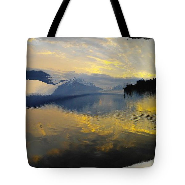 Crooked Frame Tote Bag by Jeff Swan