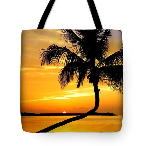 Crooked Palm Tote Bag