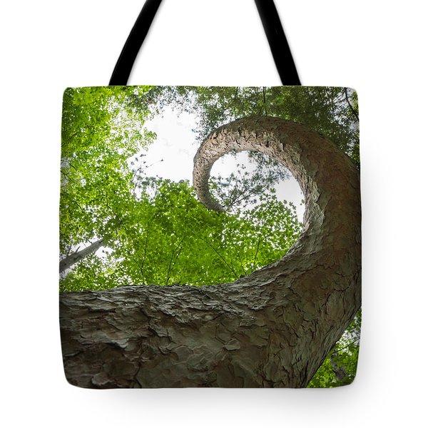 Crooked Spine Pine II Tote Bag