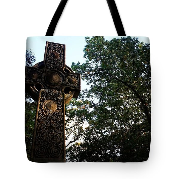 Cross And Sky Tote Bag