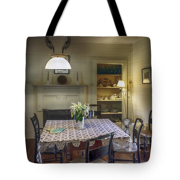 Cross Creek Country Dining Tote Bag by Lynn Palmer