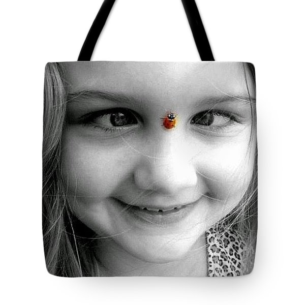 Cross-eyed For Ladybugs Tote Bag