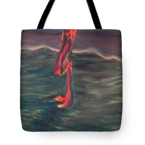 Cross Impression 1 Tote Bag by Mark Minier