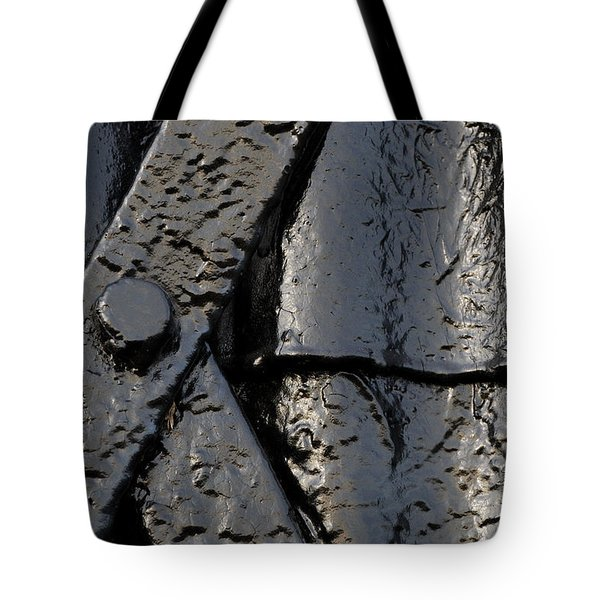 Tote Bag featuring the photograph Cross Over by Wendy Wilton