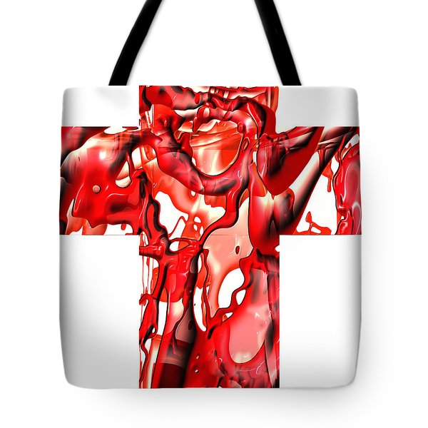 Cross... The Line Tote Bag