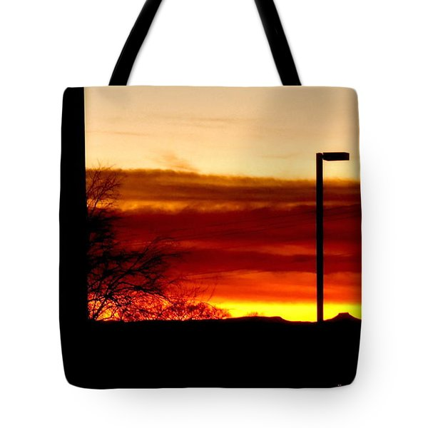Cross The Skies Tote Bag
