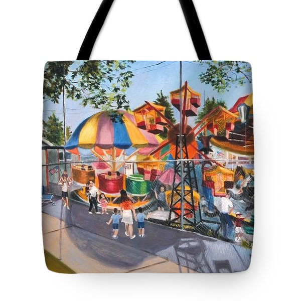 Crossbay Amusement Park Tote Bag