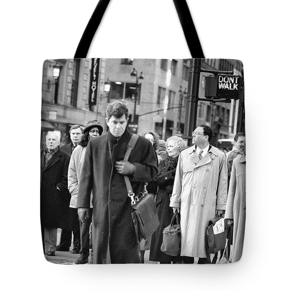 Crossing Manhattan Tote Bag
