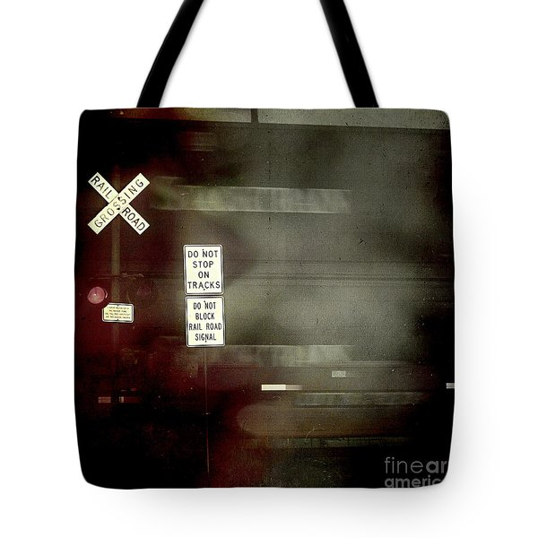 Crossing The End Tote Bag