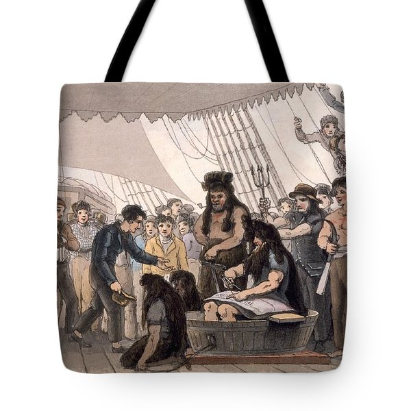Crossing The Line , From A Picturesque Tote Bag