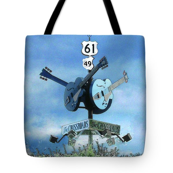 Crossroads In Clarksdale Tote Bag
