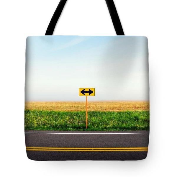 Crossroads Tote Bag
