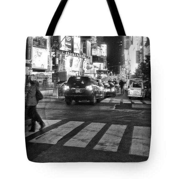 Crosswalk Tote Bag by Dan Sproul