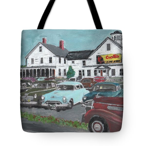 Crosti's Grove Tote Bag