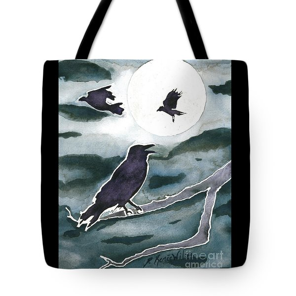 Crow Moon Tote Bag