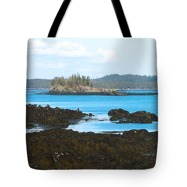 Crow Island Bay Of Fundy Nb Tote Bag