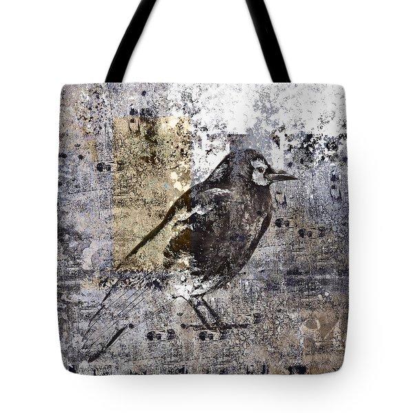 Crow Number 84 Tote Bag