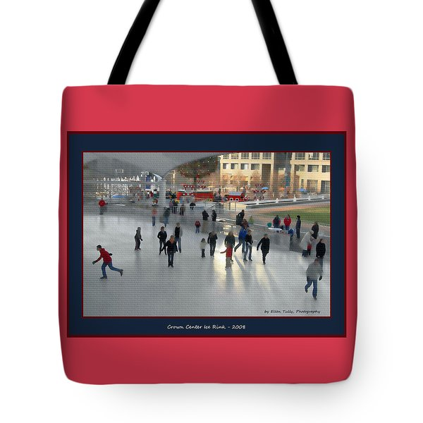 Crown Center Ice Rink Tote Bag