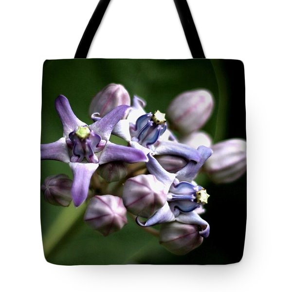 Crown Flower - Purple Tote Bag