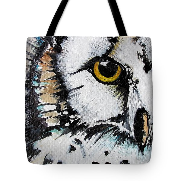 Tote Bag featuring the painting Crown by Nicole Gaitan