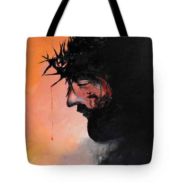Blood Of The Redeemer Tote Bag