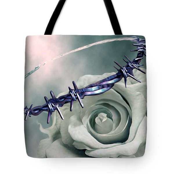 Crowned Tote Bag by Jennifer Kathleen Phillips