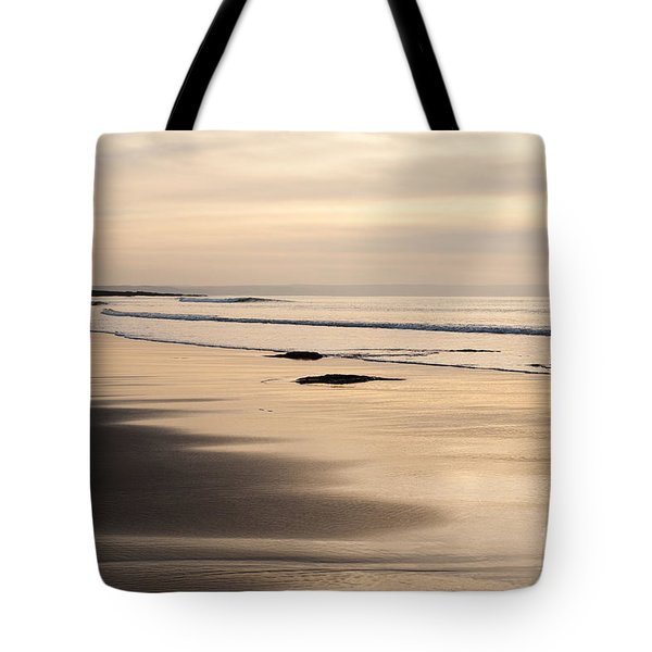 Croyde At Dusk Tote Bag by Anne Gilbert