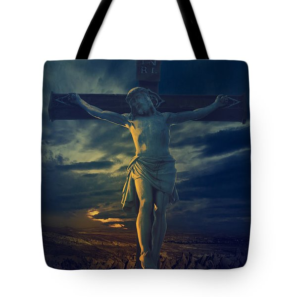Crucifixcion Tote Bag