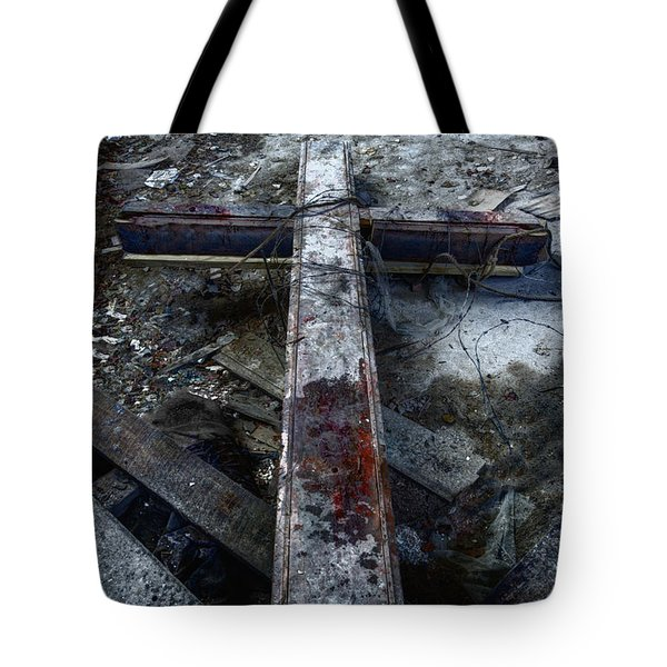 Crucifixion Tote Bag by Margie Hurwich