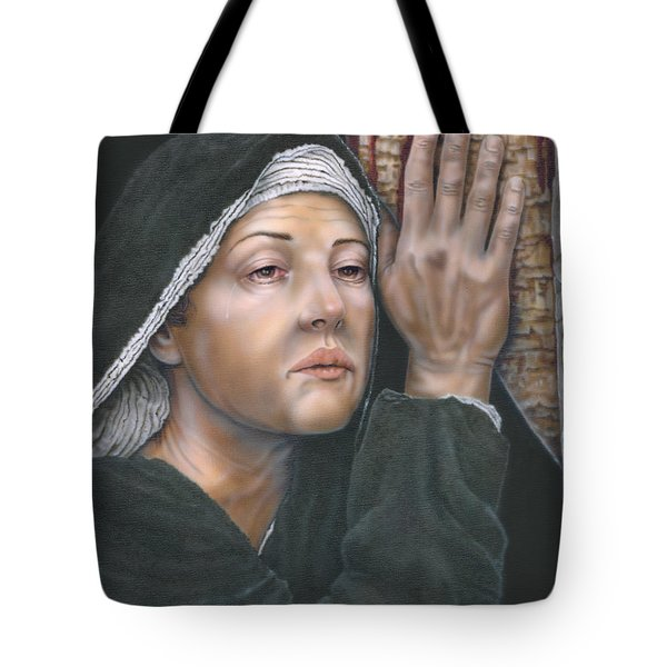 Crucifixion- Mothers Pain Tote Bag