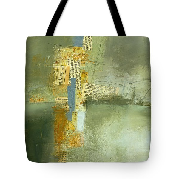 Cruciform Study Neutral Tote Bag by Jane Davies
