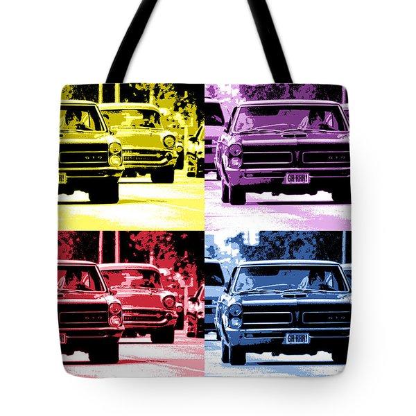 Cruise Pop 2 Tote Bag by Gordon Dean II