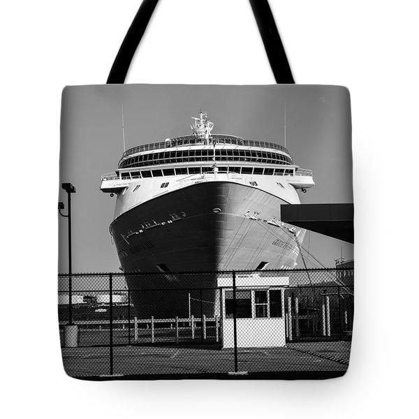 Cruise Ship Still Life Tote Bag by Bob Orsillo