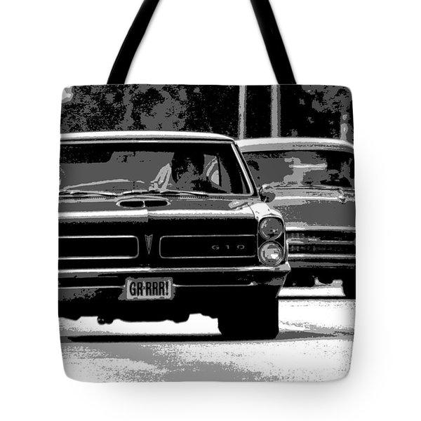 Cruisin' Woodward Tote Bag by Gordon Dean II