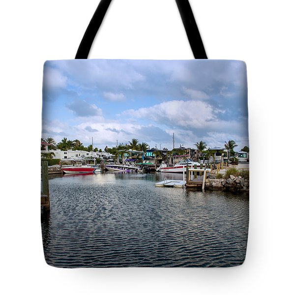 Cruising Into Camp Tote Bag