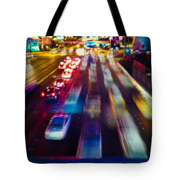 Cruising The Strip Tote Bag by Alex Lapidus