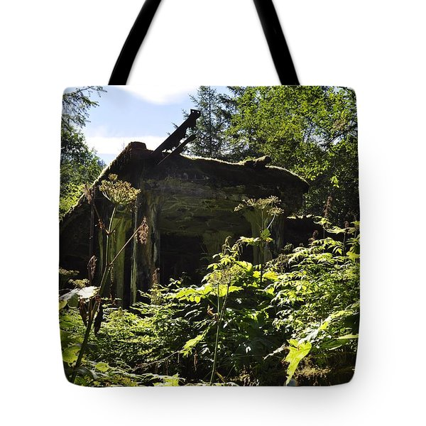 Crumbling Down Tote Bag