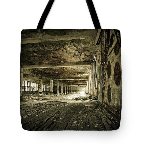 Crumbling History Tote Bag by Priya Ghose